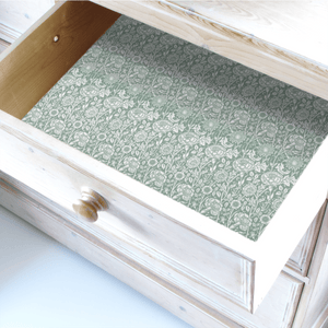 Simply Drawer Liners Wipe Clean Drawer Liners Duck Egg William Morris WIPE CLEAN Drawer Liners
