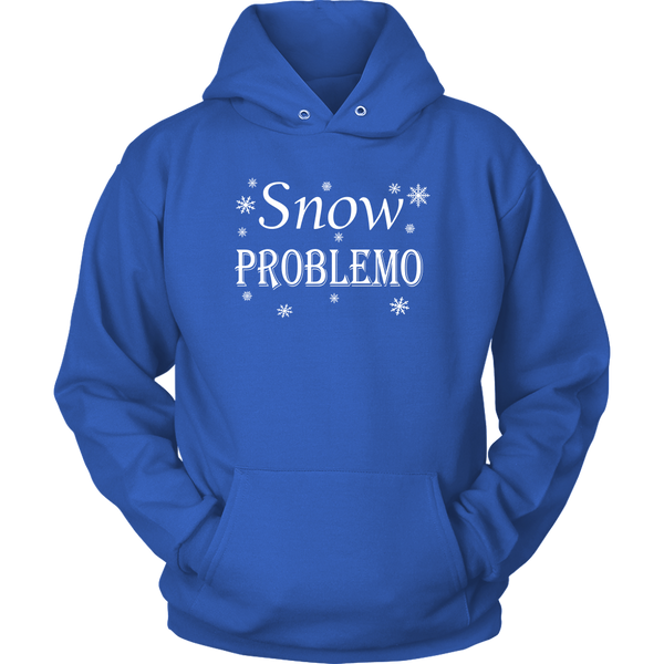 Snow Problemo. Women's Long Sleeeve Tee or Hoodie