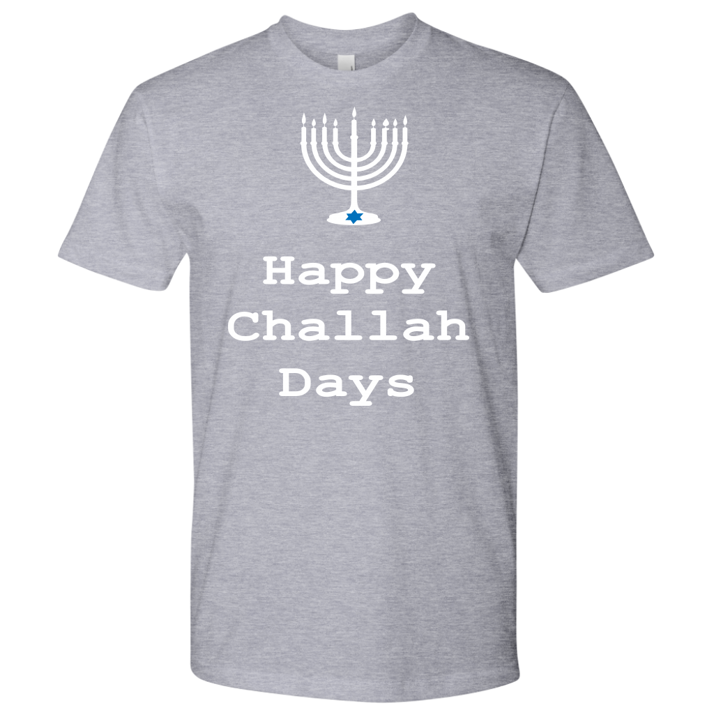 Happy Challah Days. Men's Tshirt