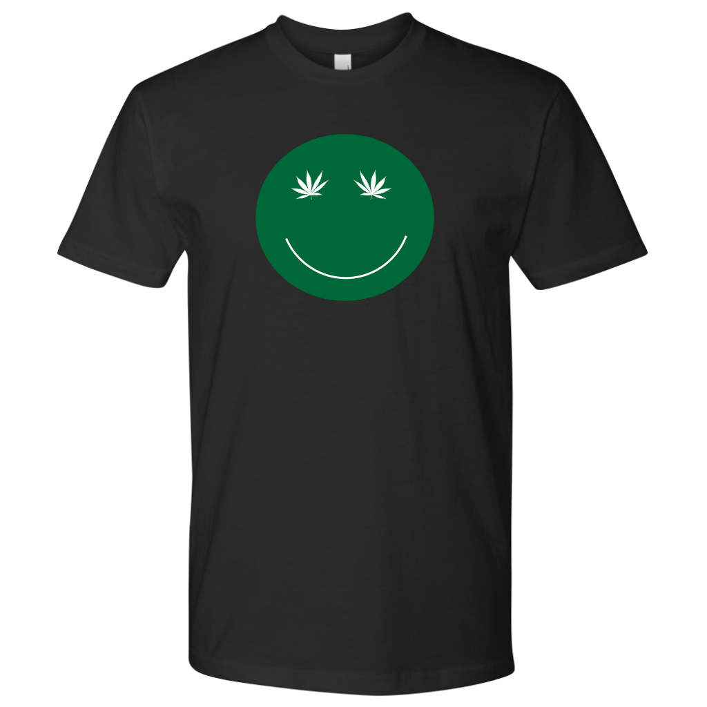I'm all smiles....  Weed smiley face tshirt