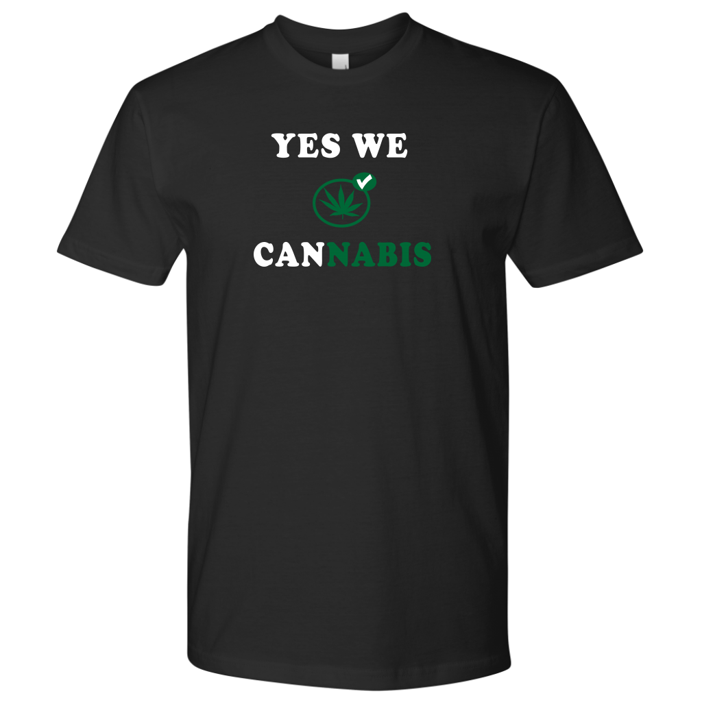 Yes we can(cannabis). Tee