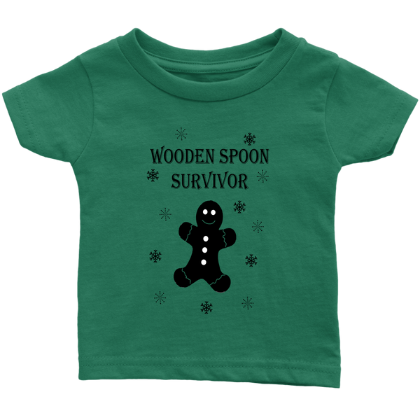 Wooden Spoon Survivor Gingerbread Infant Tshirt