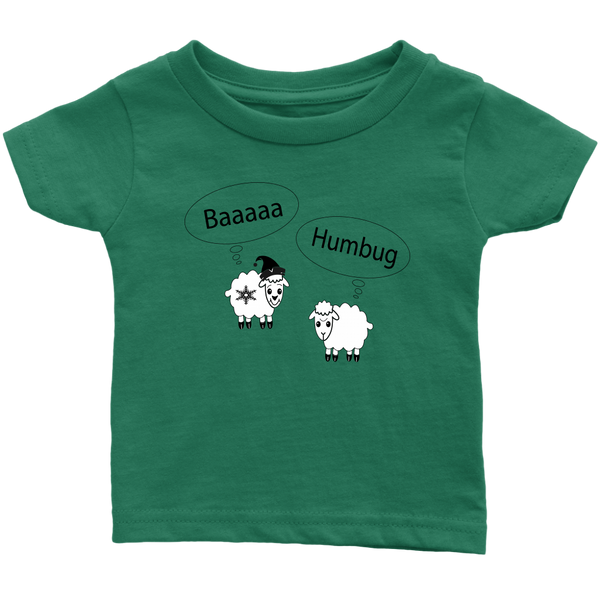 Baaa Humbug! Infant, Toddler and Kids Tshirt