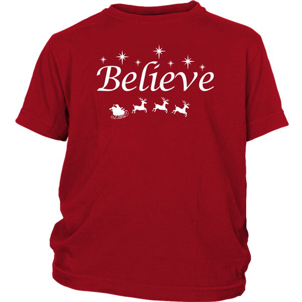 Believe! Kids Tshirt