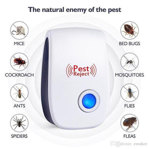 ULTRASONIC PEST REPELLER (2+1 FREE)