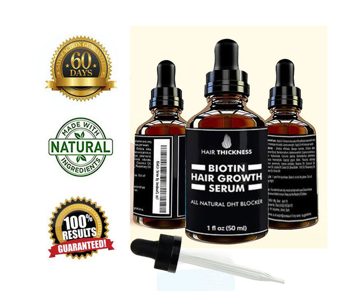 Hair Growth Serum With Biotin Serum