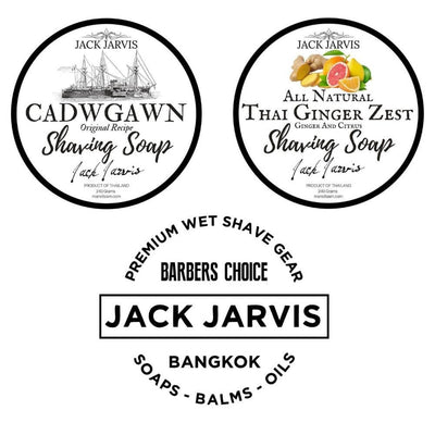 Jack Jarvis Shaving Soap Siam Wet Shave Thailand
