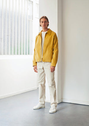 Golf jacket - English medium wale corduroy - Honey - De Bonne Facture