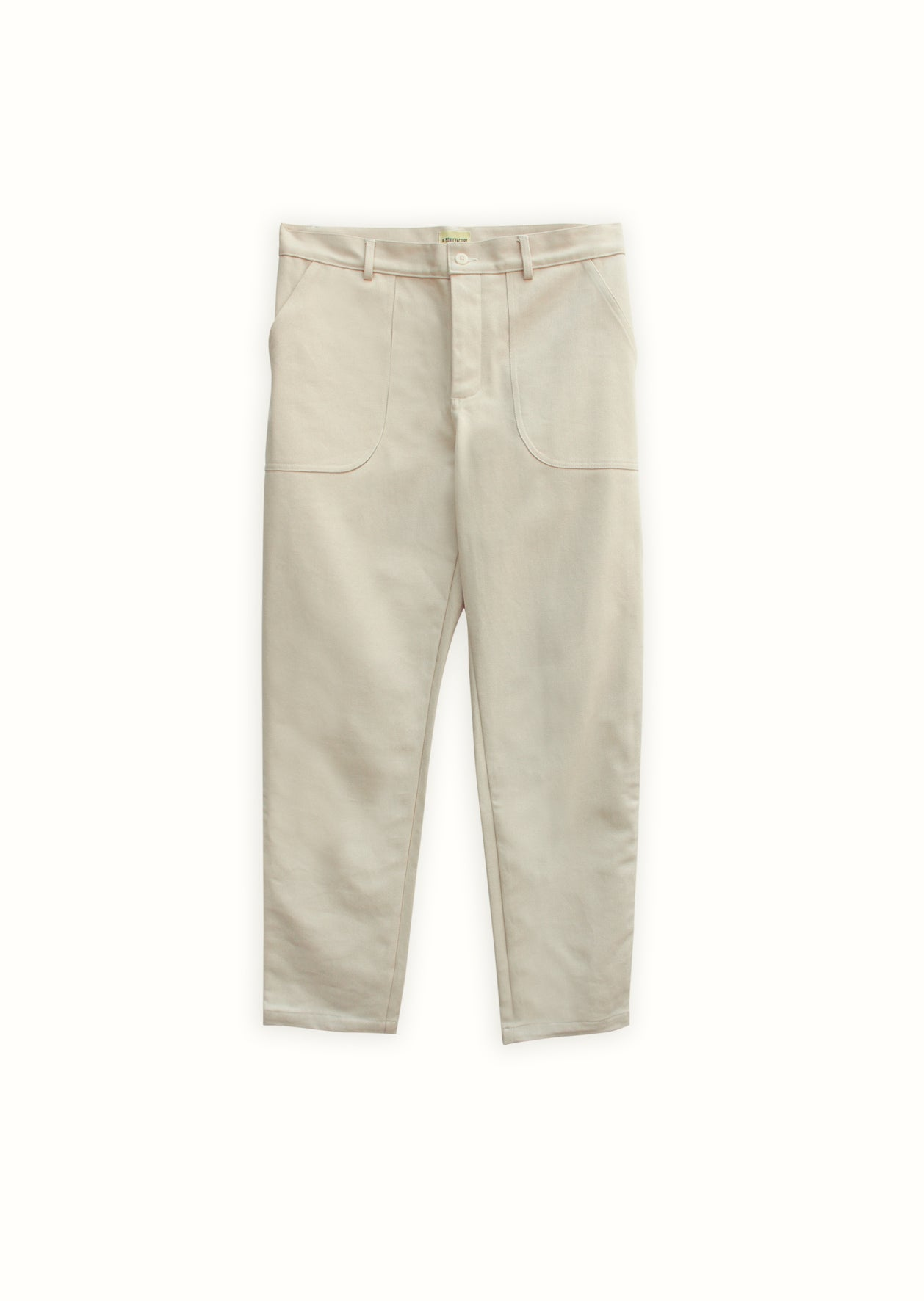 Painter's trousers - Heavy cotton twill - Beige