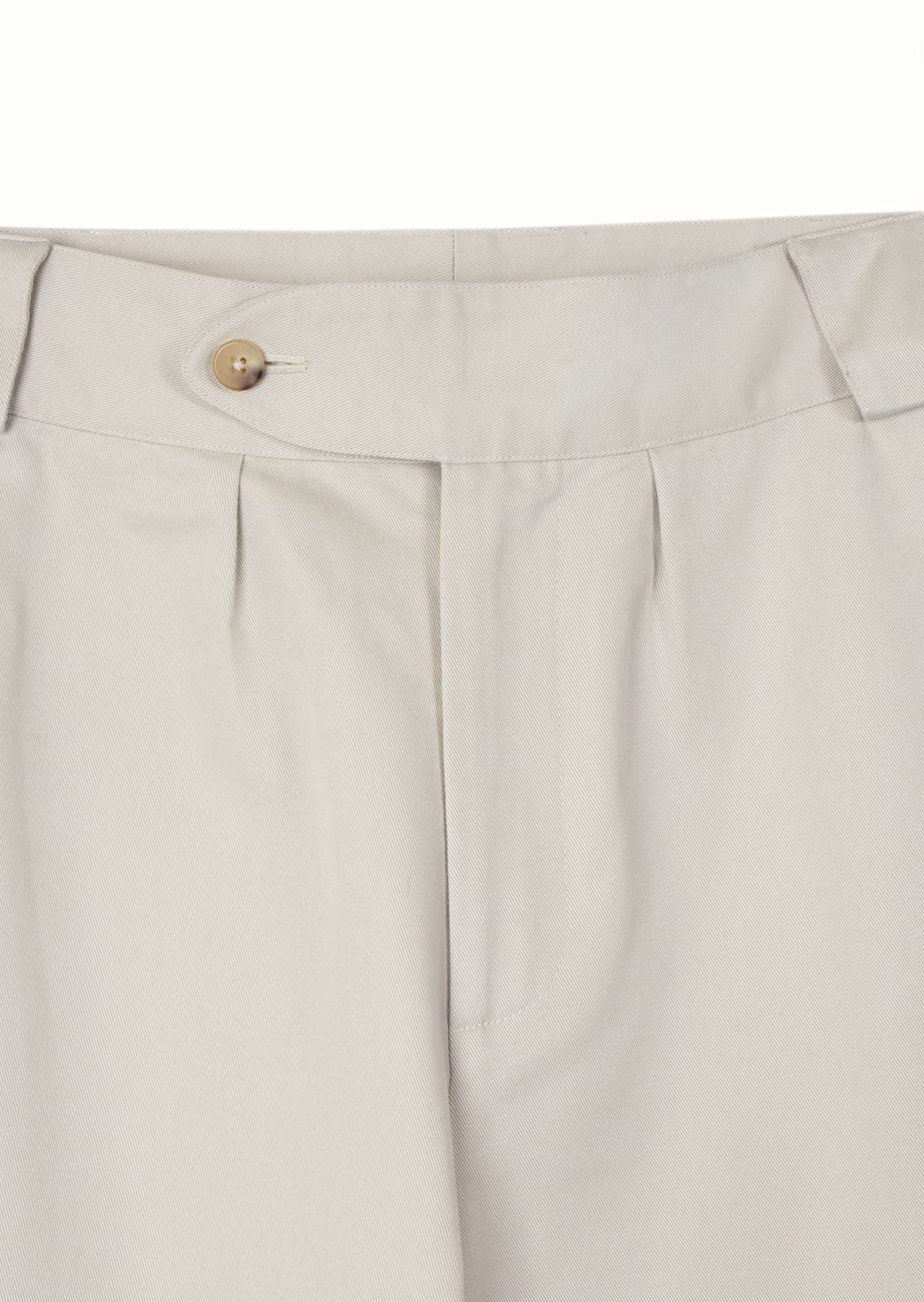 De Bonne Facture - De Bonne Facture - Hiking trousers - Japan cotton twill - Light grey