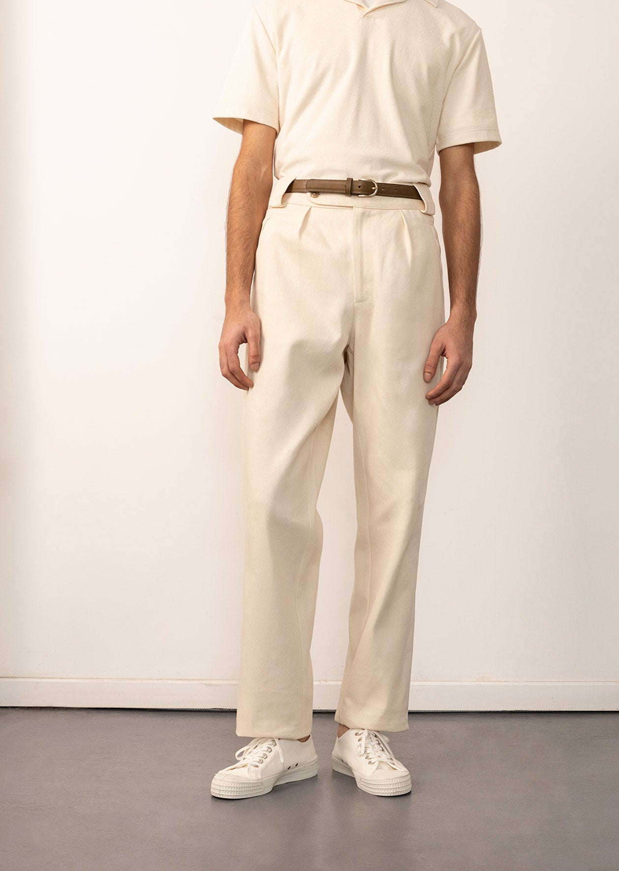 De Bonne Facture - Hiking trousers - Organic cotton twill - Undyed