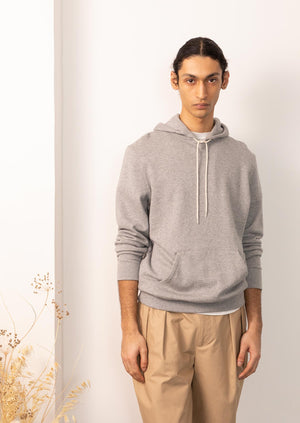 De Bonne Facture - Hoodie - Cotton fleece - Grey