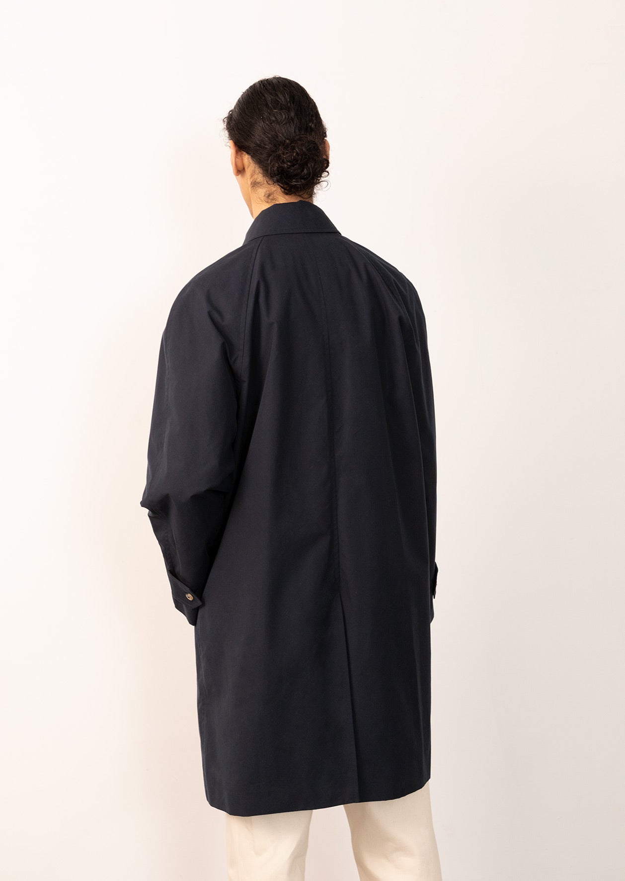 De Bonne Facture - Parisian raincoat - Organic cotton ventile® - Navy