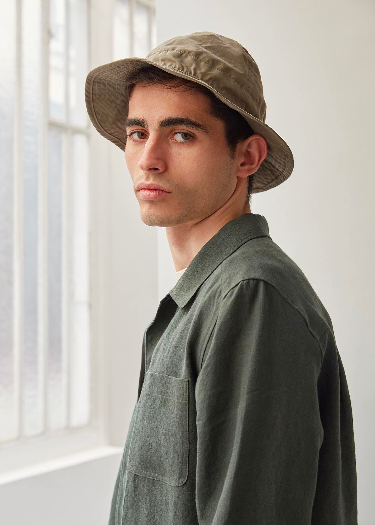 Bob hat - Organic cotton ventile® - Earth - De Bonne Facture