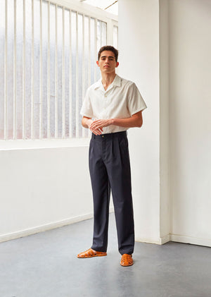 Two pleat large trousers - De Bonne Facture