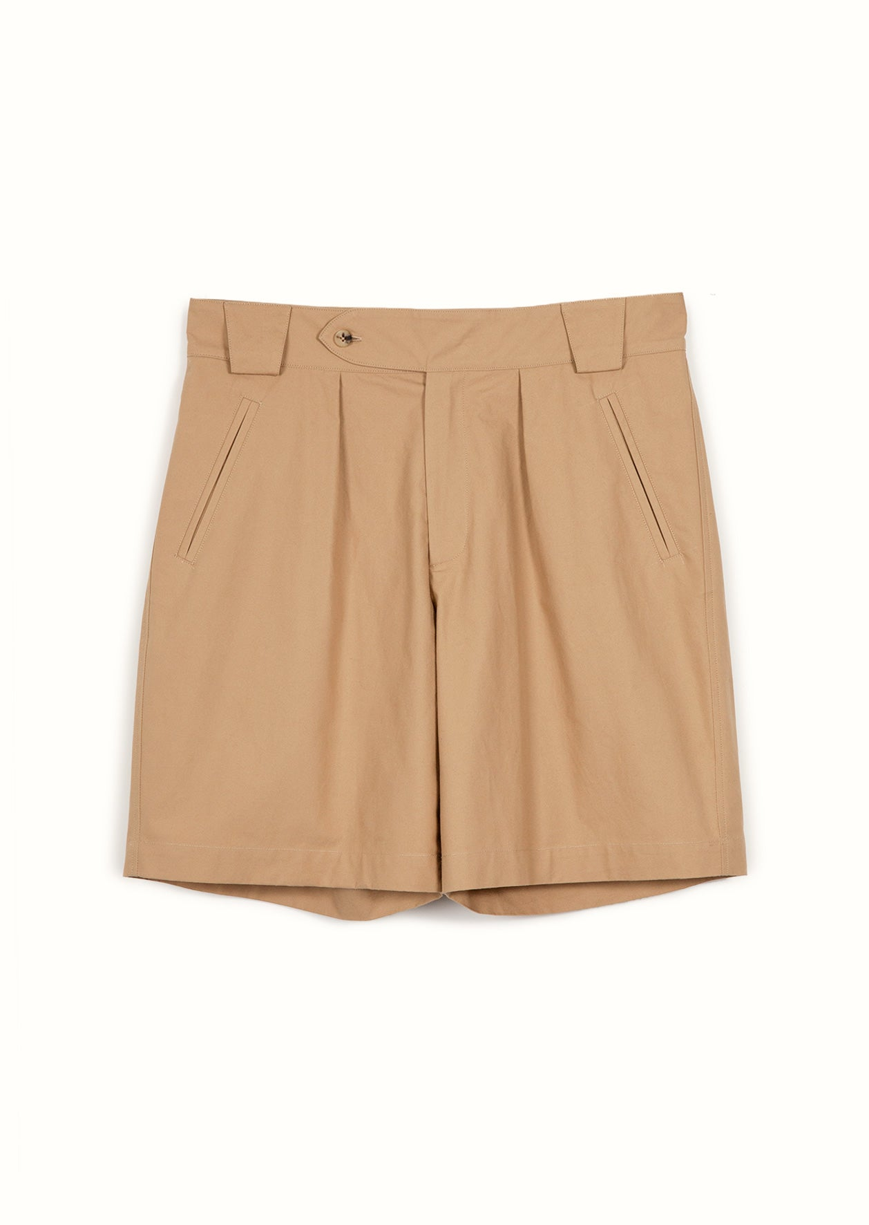 De Bonne Facture - Hiking shorts - Compact cotton - Camel