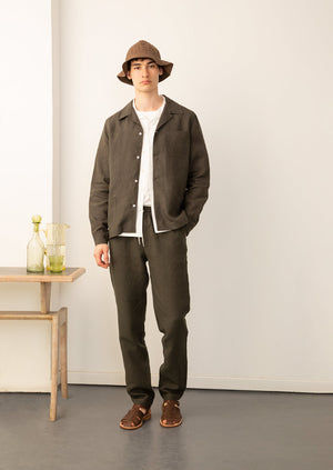 De Bonne Facture - Painter's jacket - Belgian washed linen - Arabica