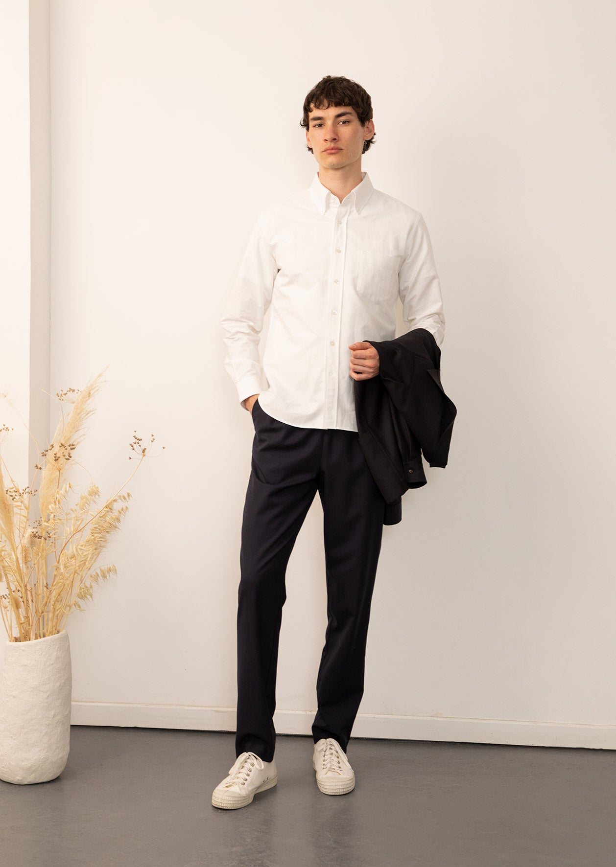 Permanent - Essential shirt - Organic oxford cotton - White
