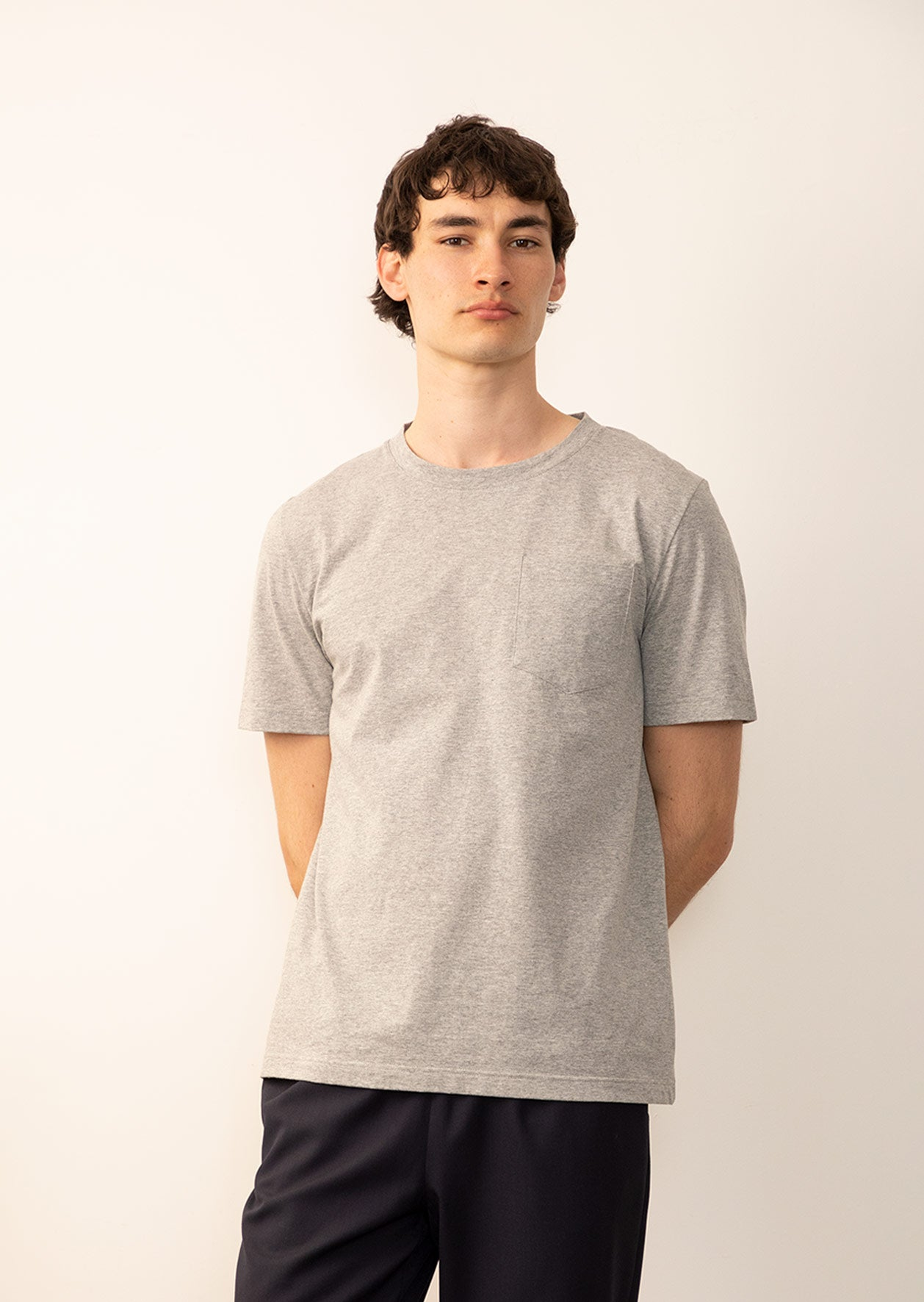 De Bonne Facture - Permanent - Essential t-shirt - Organic cotton jersey