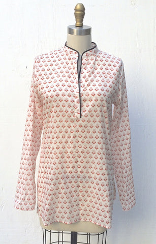 LAYLA KURTA WITH PIPING