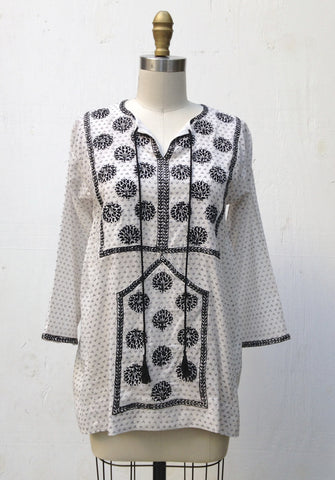 PAKISTANI TOP WITH EMBROIDERY