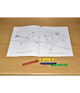 Hurl The World Colouring Book