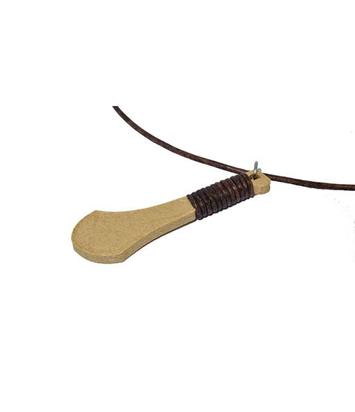 Hurl Necklace with Leather Grip