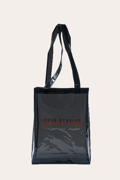 The Transparent Tote Noir