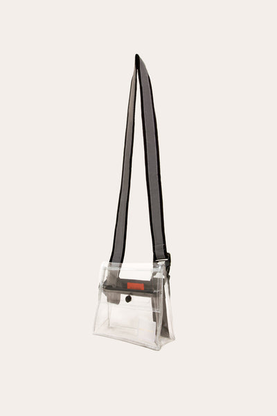 Reflective Cross Body Bag Clear