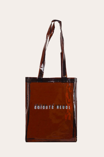 The Transparent Tote Cola Brown