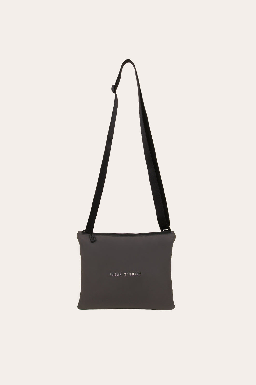 The Flat Pouch Soft Grey