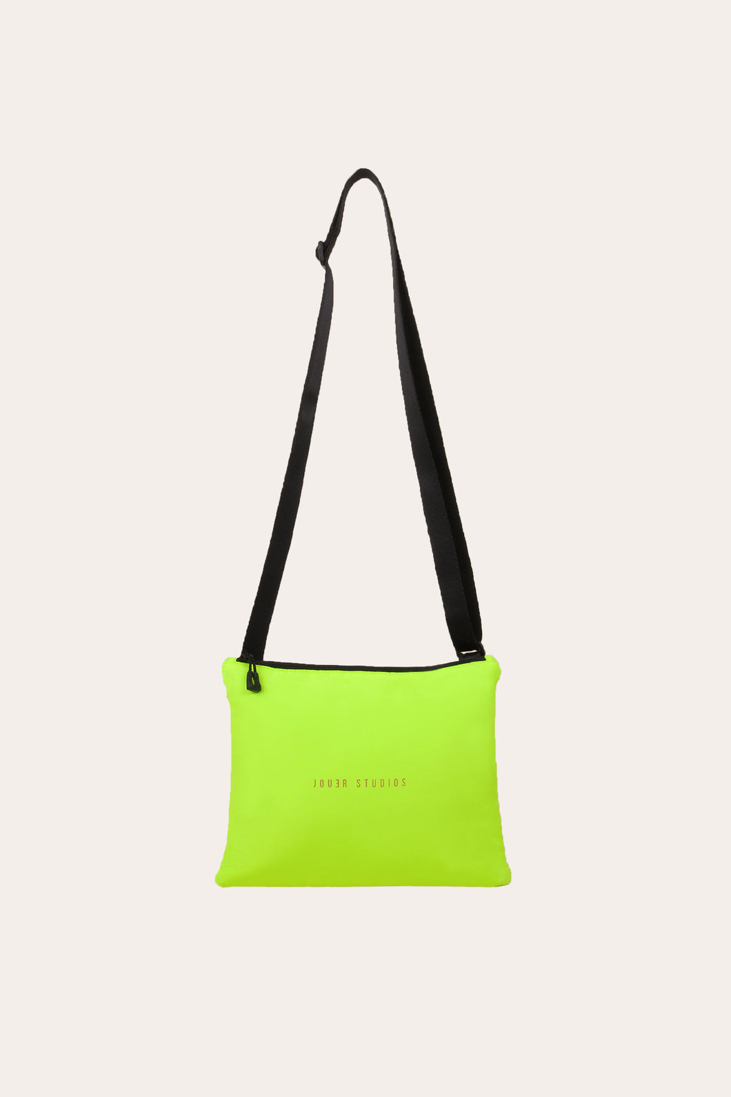 The Flat Pouch Neon