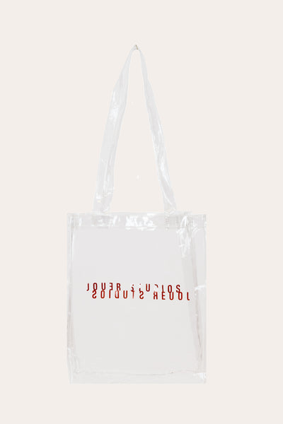 The Transparent Tote Clear