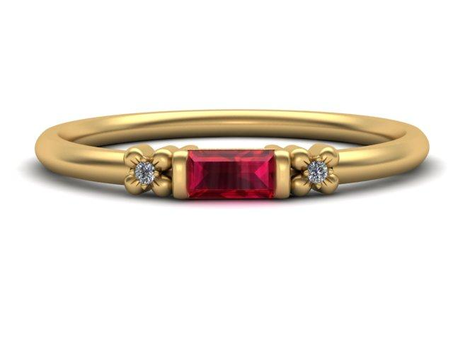 The Gemstone of Summer; Ruby