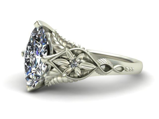 Arwen - Inspired Custom Ring