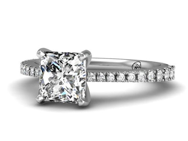 Bostonian Bailey Engagement Ring - Custom Design - Bostonian Jewelers Boston Jewelers