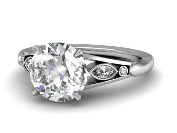 Bostonian Bridget - Custom Engagement Ring - Bostonian Jewelers