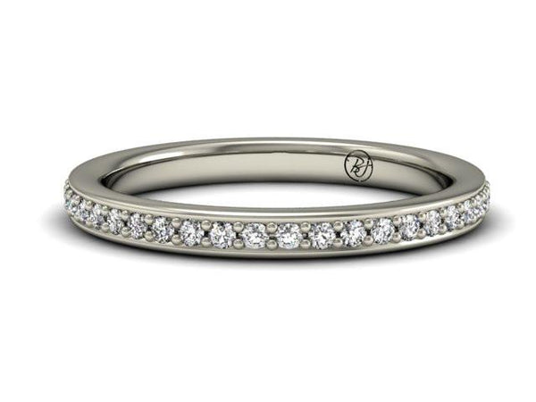 Bostonian Brighton Wedding Band - Classic Wedding Ring - Boston Jewelry