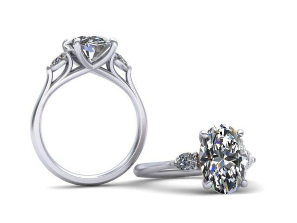 Bostonian Jenny - Classic Engagement Ring