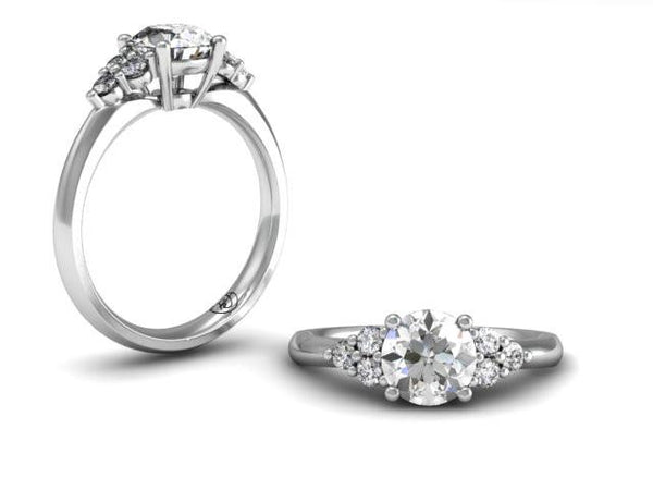 Bostonian Delana - Custom Engagement Ring - Bostonian Jewelers