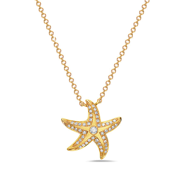 Diamond Pave Starfish