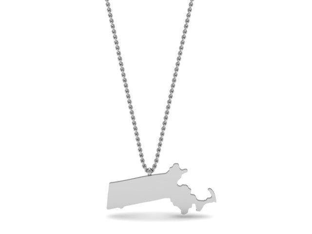 Wicked Awesome Massachusetts Pendant
