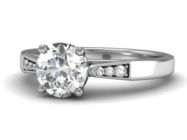 Newbury - Classic Timeless Engagement Ring - Bostonian Jewelers