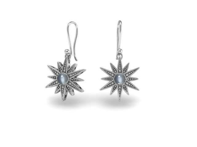 Stargazing Unique Custom Earrings - Bostonian Jewelers