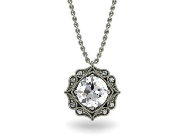 Cassandra Unique Necklace - Custom Design - Bostonian Jewelers