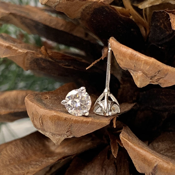 Swag Style Moissanite Earrings