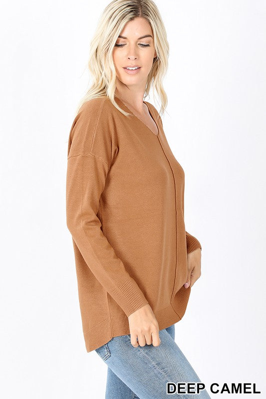 V Neck Extra Soft Sweater