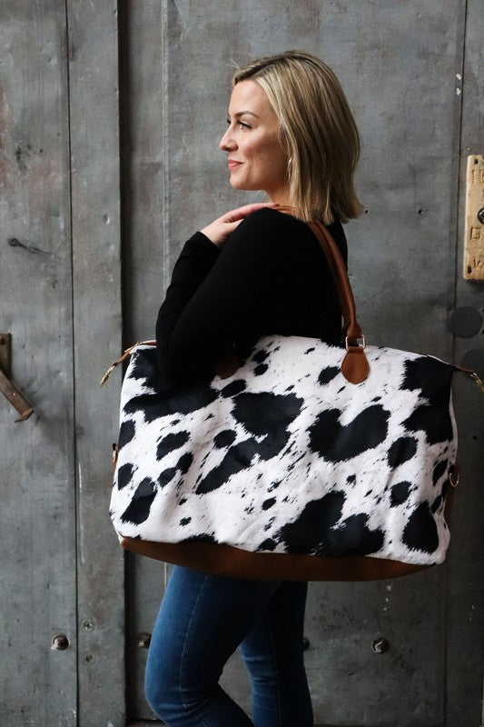 Black Cow Weekender Bag