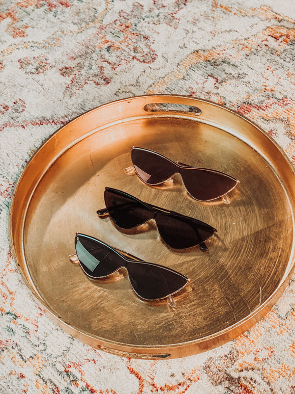 Vintage cateye sunglasses