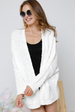Knit cardigan with pockets